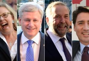 Canada – Federal Leader's debate – August 6, 2015
