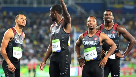 Olympics: Canada retains 4 x 100 bronze as US team loses appeal