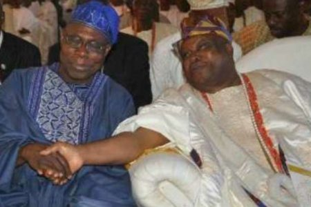 Awujale incurs Obasanjo's anger: You're a rumour monger, says Obasanjo