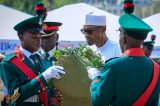 Stressing the need for security agencies joint wreath laying
