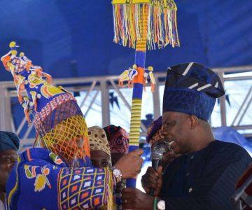 Osinbajo charges new Akarigbo on development of Remoland
