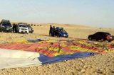 Balloon kills tourist, injures 12 others